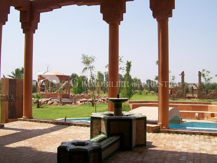 Maroc Marrakech Villa 1100 M Mas Et Proprietes Immobilier Prestige