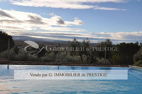 [G. Immobilier de Prestige] Vaucluse,Caromb, villa d'architecte
