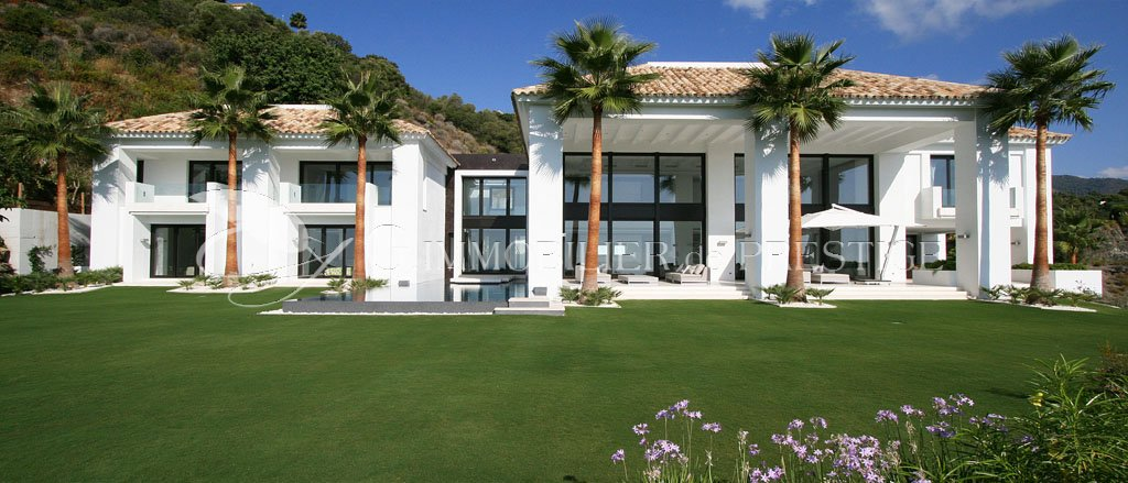 Immobilier prestige espagne marbella villa luxueuse for Villa et prestige